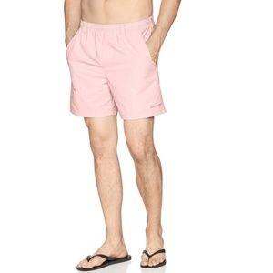 Columbia | NWT Light Pink Swim Trunks Size Large